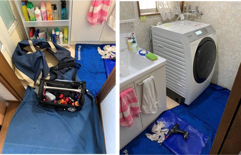 ドラム式洗濯乾燥機が不調-修理に来てもらう