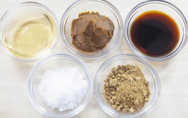 伝統製法の調味料