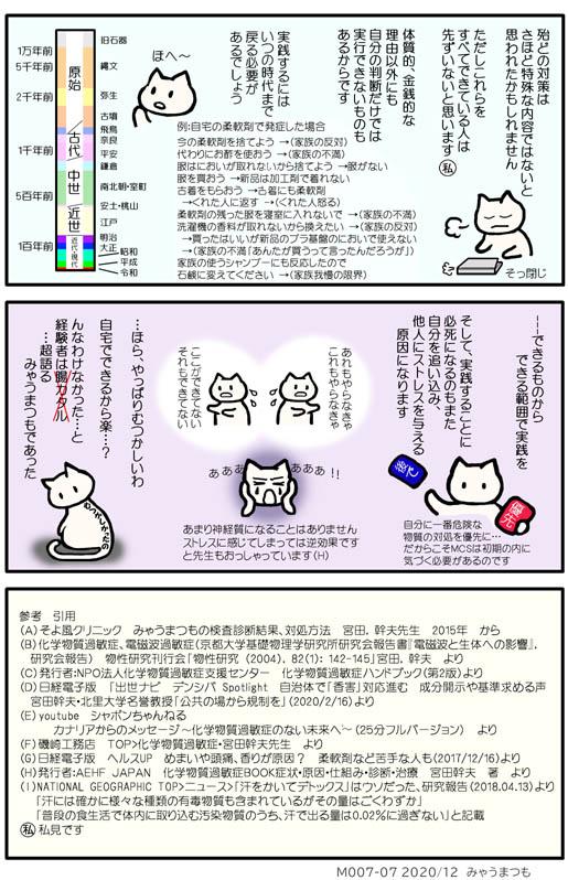 化学物質過敏症発症M007-07参考・引用