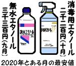 消毒用エタノール高騰
