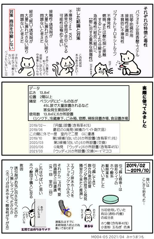 化学物質過敏症M004-05害虫対策は春・夏が本番実践