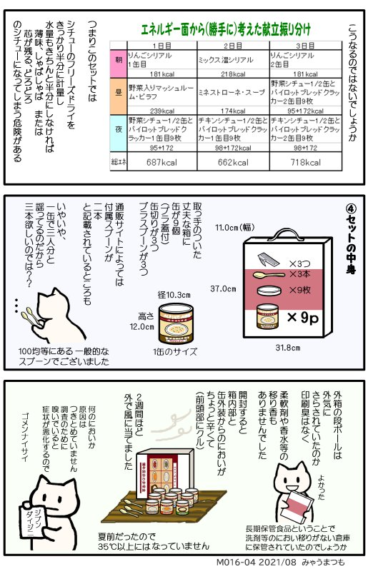 長期保存非常食 アルパインエアM016-04