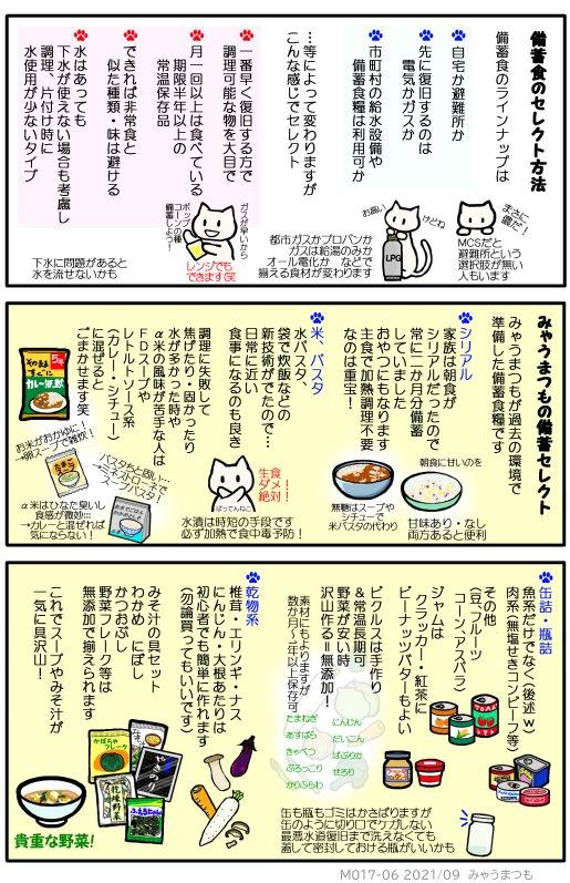 備蓄食の選び方と実際 M017-06