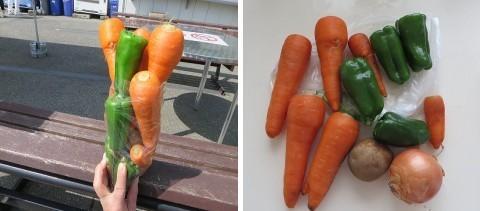 野菜の詰め放題