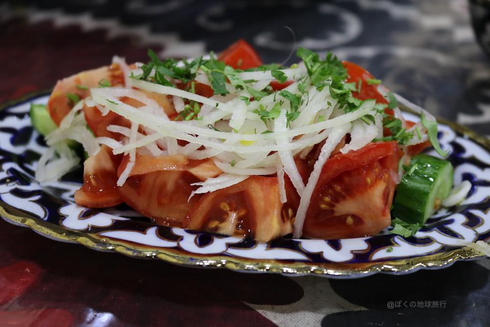 ウズベキスタン サマルカンド 観光 旅行 食事 料理