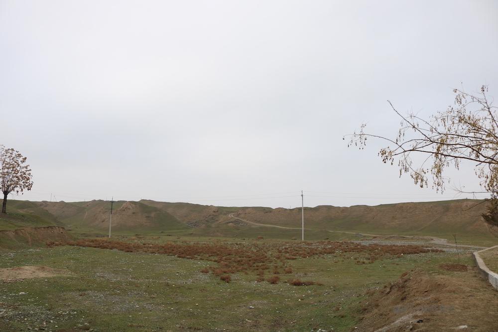 ウズベキスタン サマルカンド 観光 旅行 アフラシャブの丘