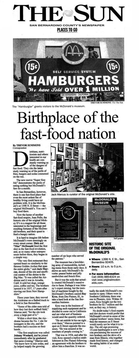The First McDonald's restaurant マクドナルドミュージアム