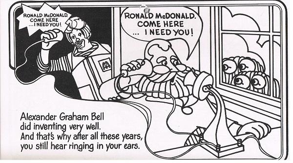 McDonald's Coloring 1980年  My Favorite 商用使用禁止