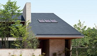 住友林業のスレート屋根