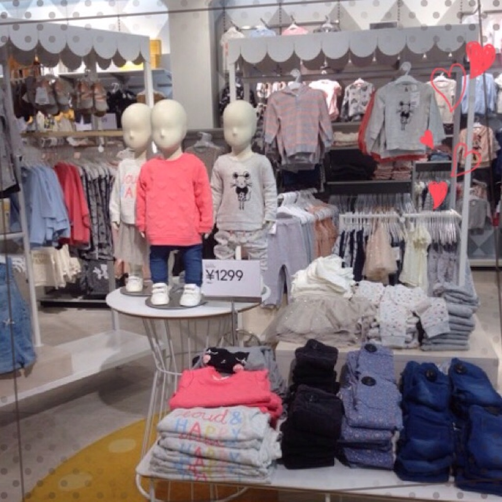 H&M新宿(子供服)