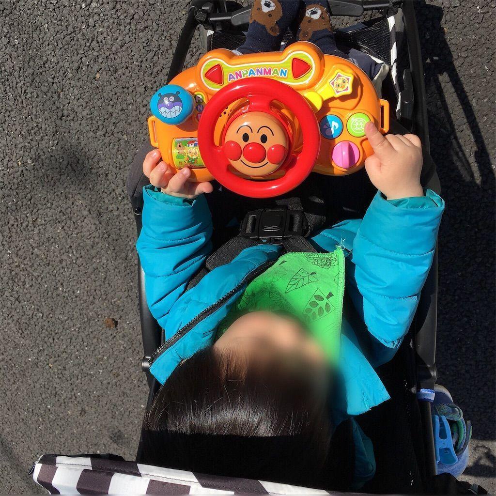 1歳児にオススメのおもちゃアンパンマン おでかけメロディハンドル