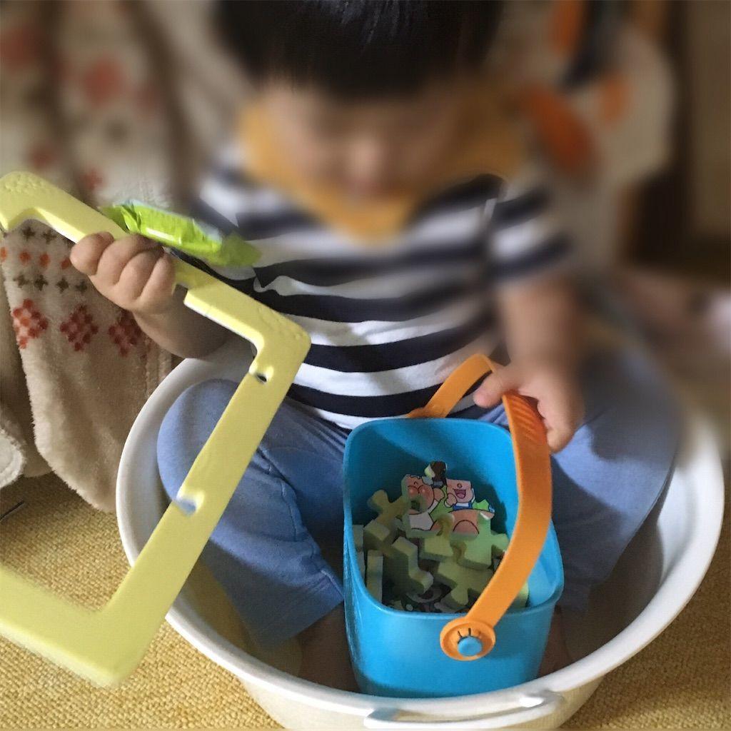 1歳児にオススメのおもちゃアンパンマン おふろでも遊べる やわらかパズル