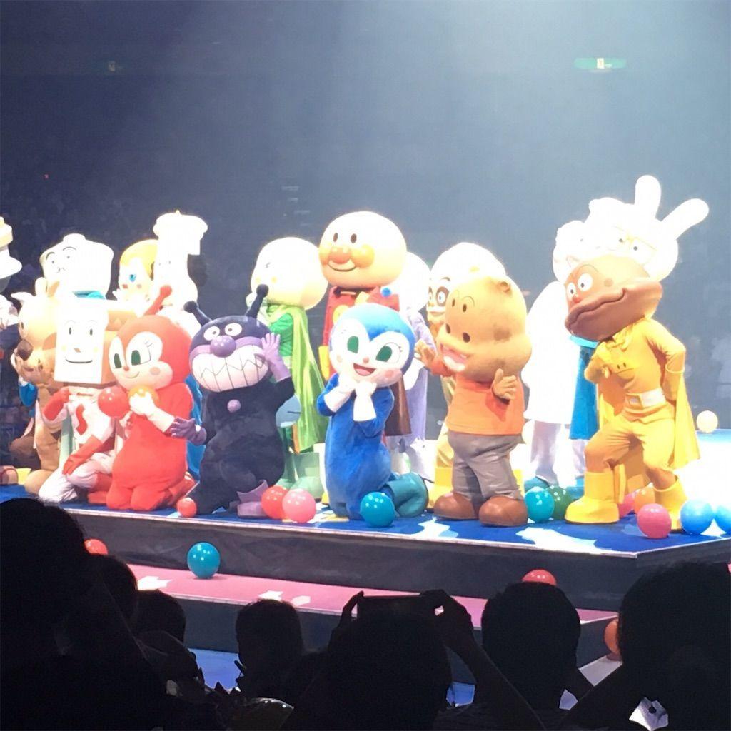 「それいけ!アンパンマン アニバーサリーフェスティバル ありがとう!みんなのキラキラパーティー」の撮影タイム!!