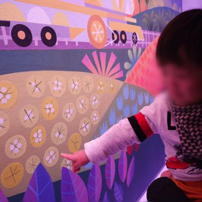 1歳が楽しむスモールワールド