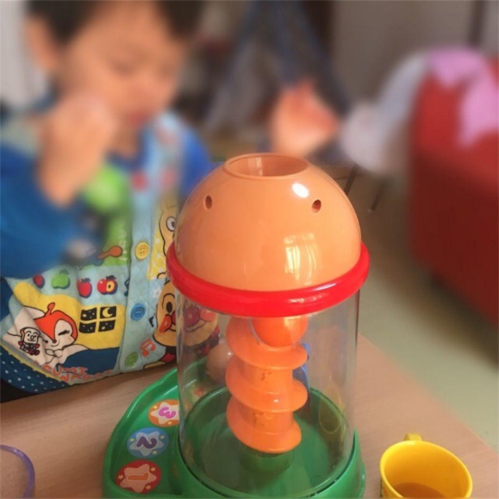 アンパンマンくるコロタワーの口コミ_楽しく遊ぶ2歳児