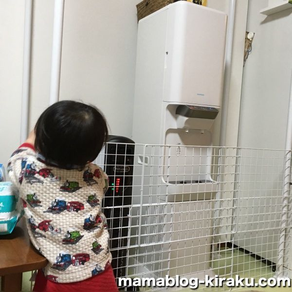 ウォーターサーバーガードに防止される子供