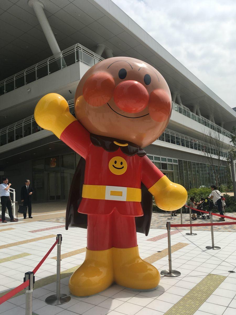 移転した横浜アンパンマンミュージアム