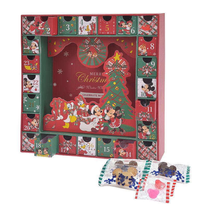 ミッキー&フレンズ アドベントカレンダー Disney Christmas