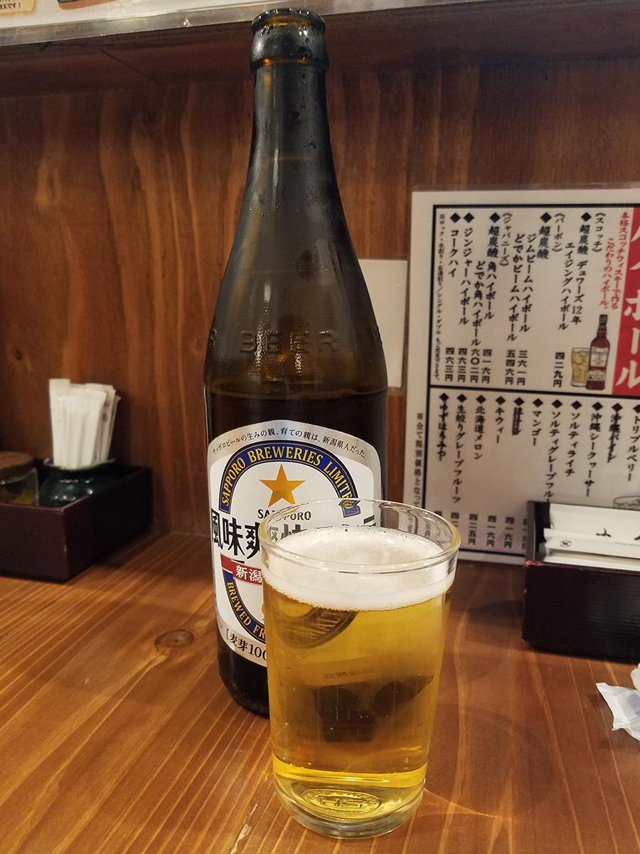 新潟限定ビイル「風味爽快ニシテ」