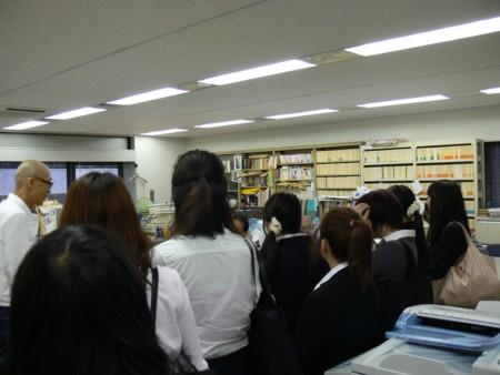 実践女子短期大学の「出版概論1」で、平凡社さんに見学にいきました
