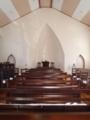 [教会]晩秋の午後、誰もいない会堂