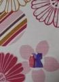 椅子の座面に折り紙の雛人形