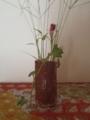 娘が小学校で作った花瓶