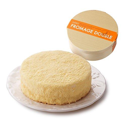 ルタオ (LeTAO) チーズケーキ ドゥーブルフロマージュ ホール 4号(2?3人分)