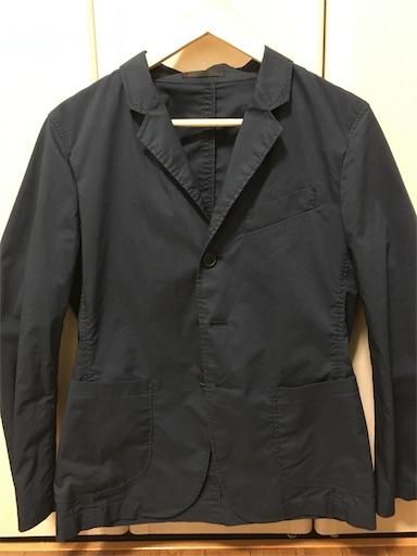 ユニクロのライトウェイトジャケット