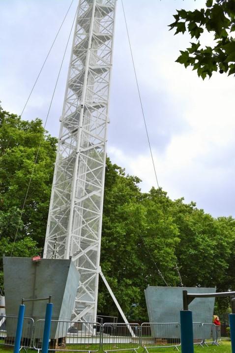 35メートルの塔