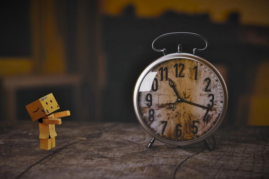 動詞は時間を伝える?