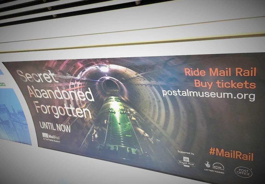 ロンドン地下鉄の広告