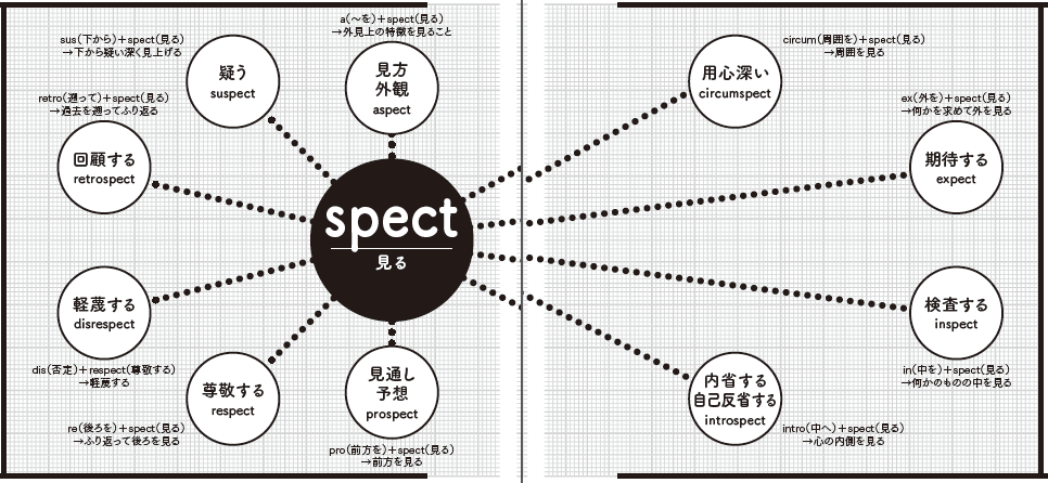 語根spect