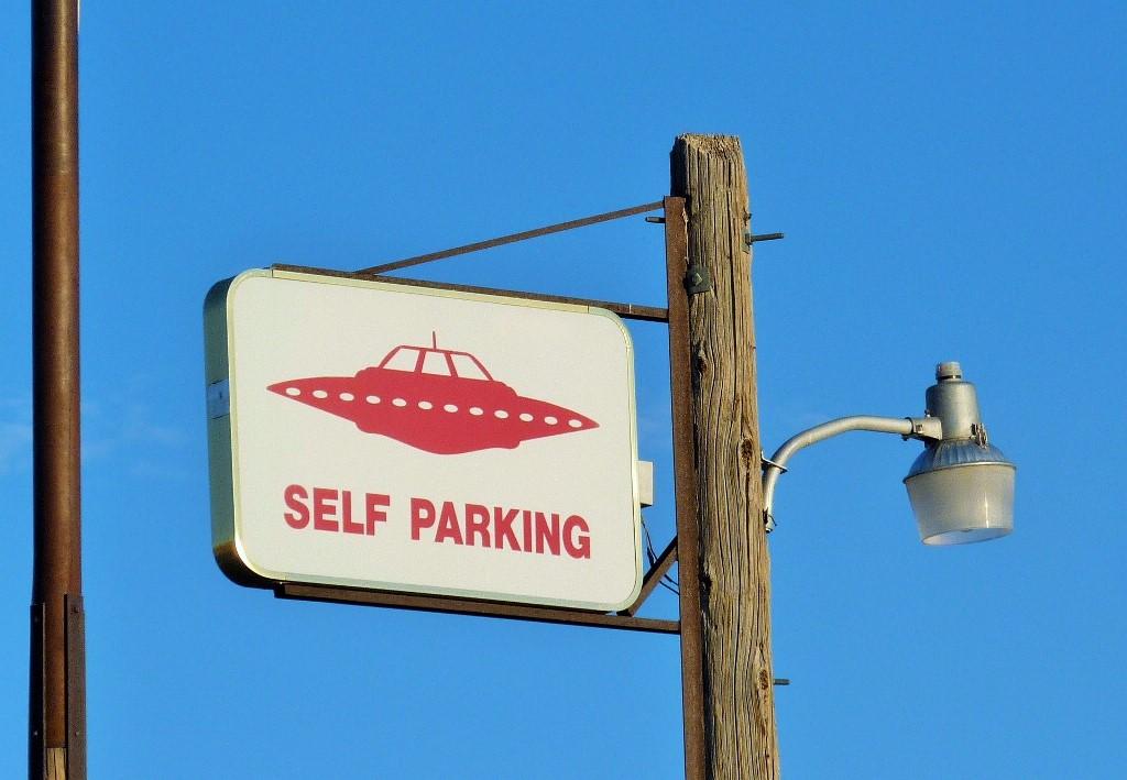 UFOの駐車場