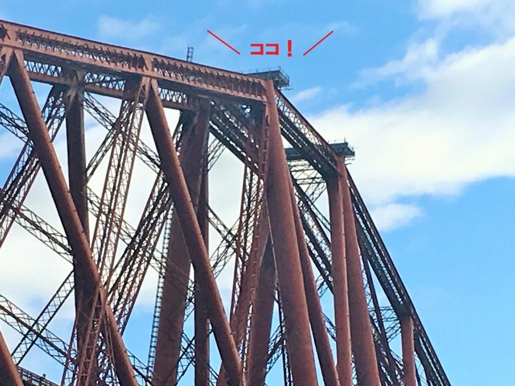 フォース橋のテッペン