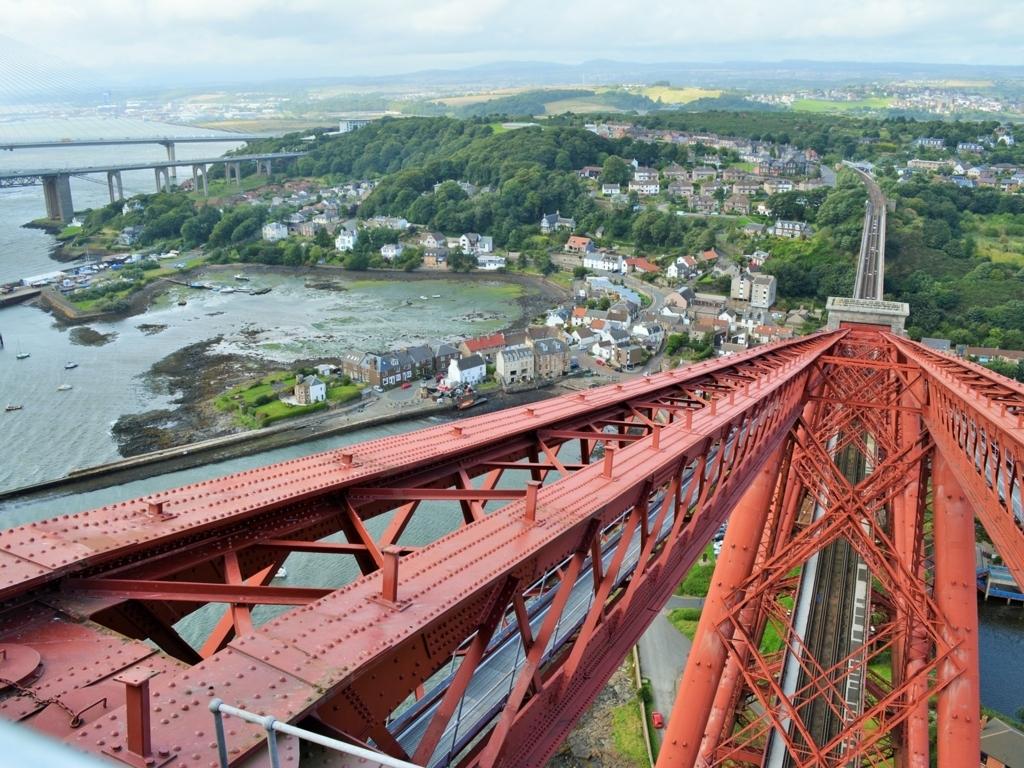 フォース橋からの眺め