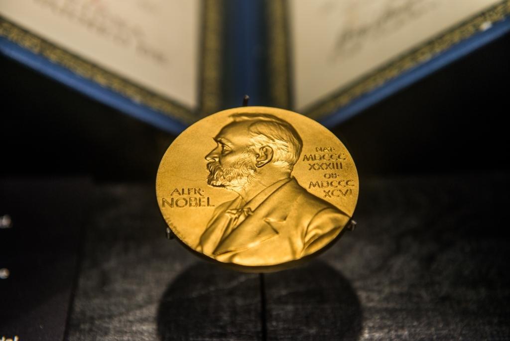 ノーベル賞のメダル