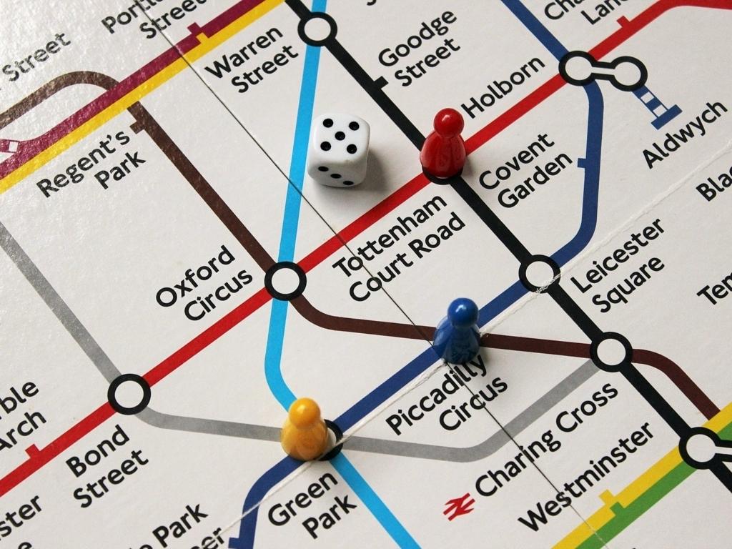 ロンドンの地図