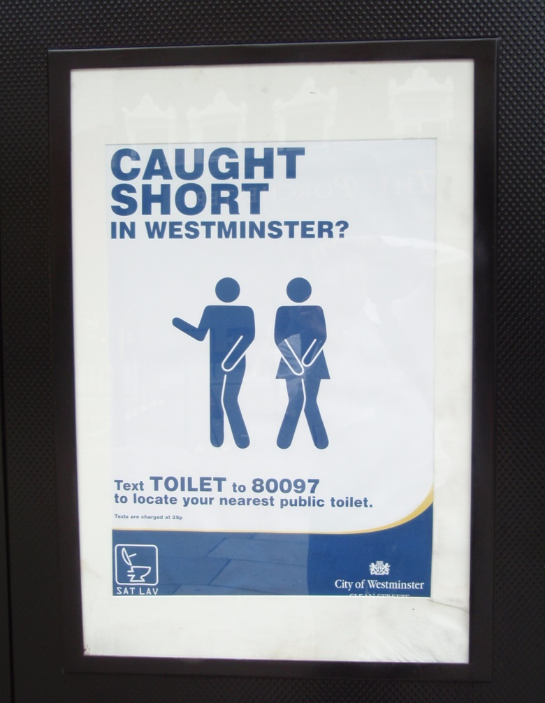 CAUGHT SHORT IN WESTMINSTER?