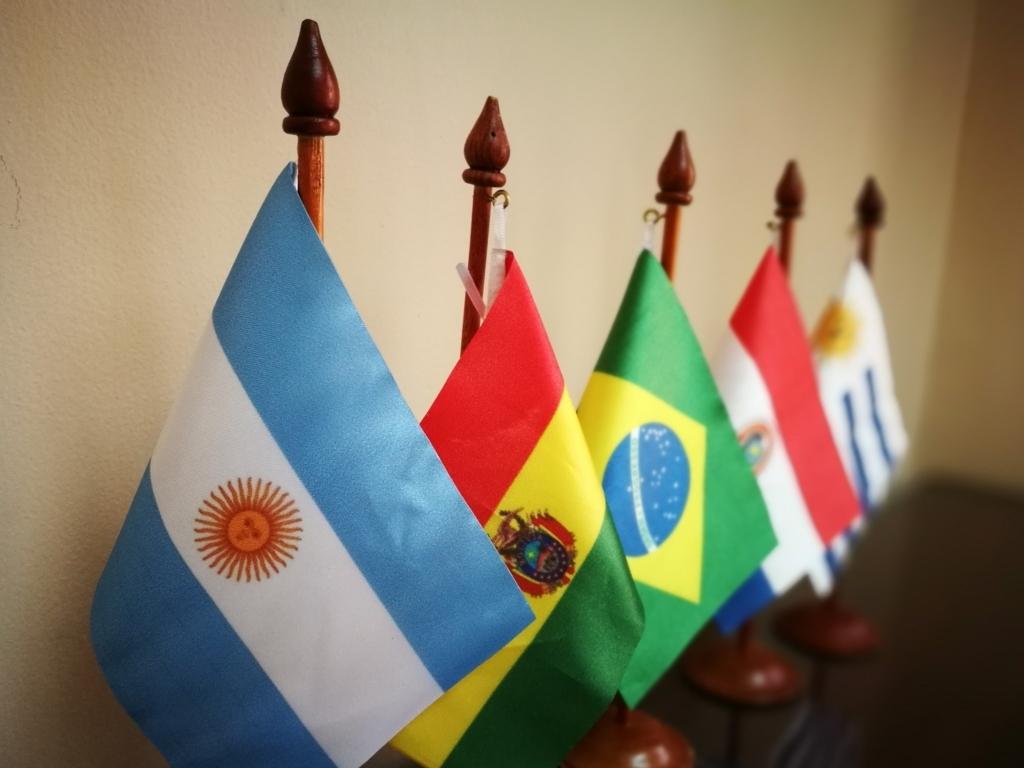ラテンアメリカの国旗