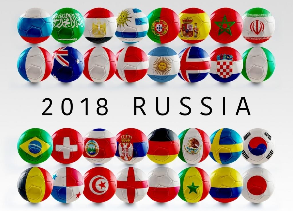 ワールドカップロシア大会
