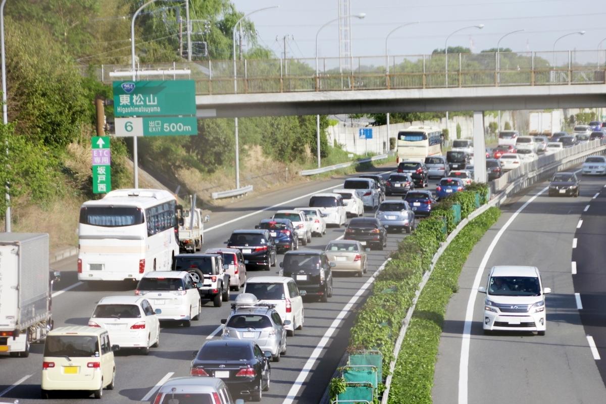 ゴールデンウィークの渋滞
