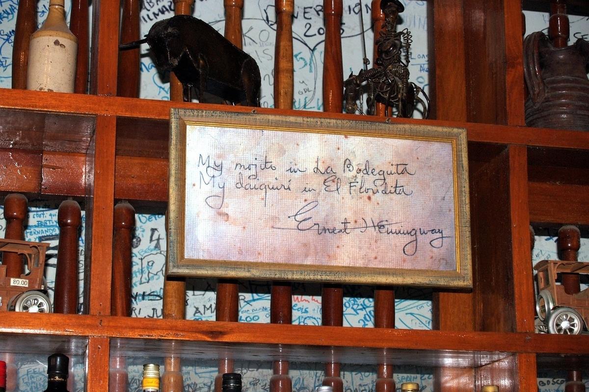 ヘミングウェイの署名