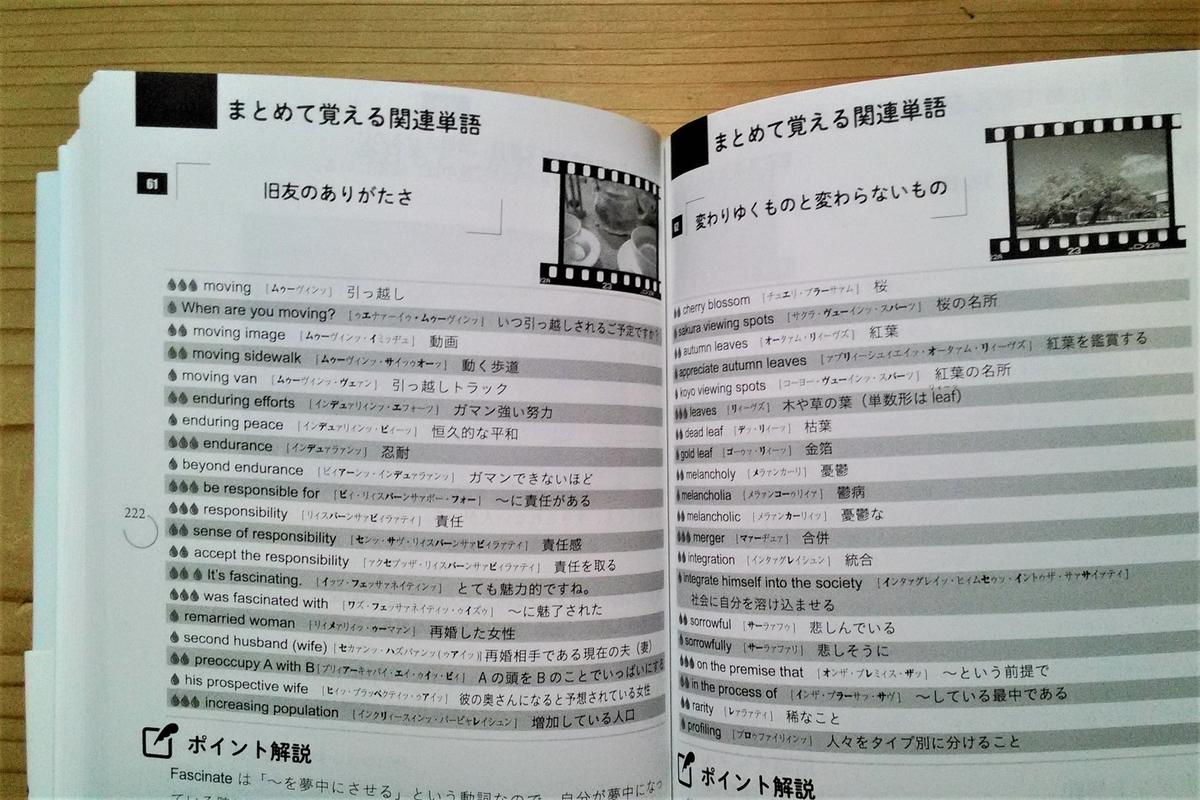 英単語やフレーズをまとめて覚えるページ