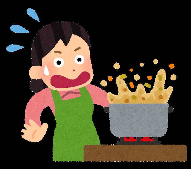 料理をしている人