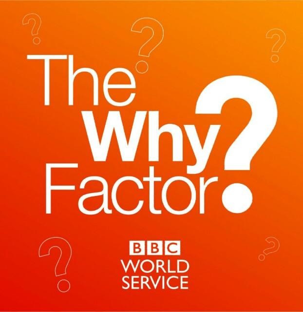 英語学習おすすめポッドキャスト:The Why Factor:image