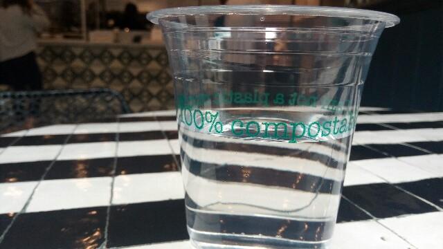 土に還る使い捨てカップ:image