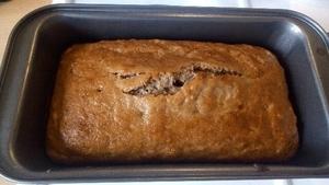 たった6つの食材で作れる簡単ヴィーガンバナナケーキ:plain