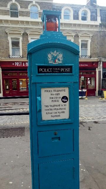 警察電話ボックス:image
