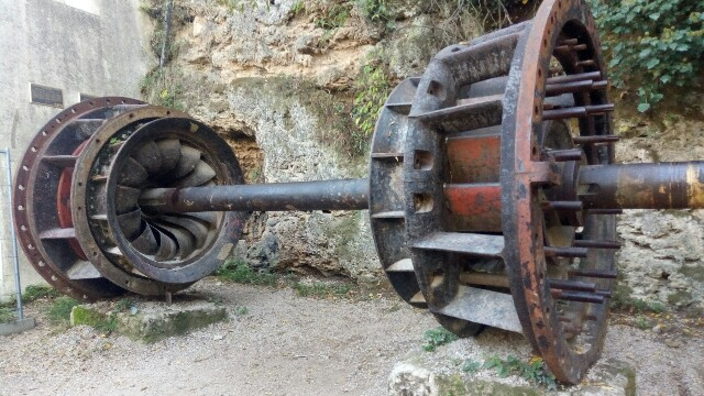 世界最古?の水力発電:image